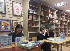 Марафон русских чтений в книжном магазине Янус