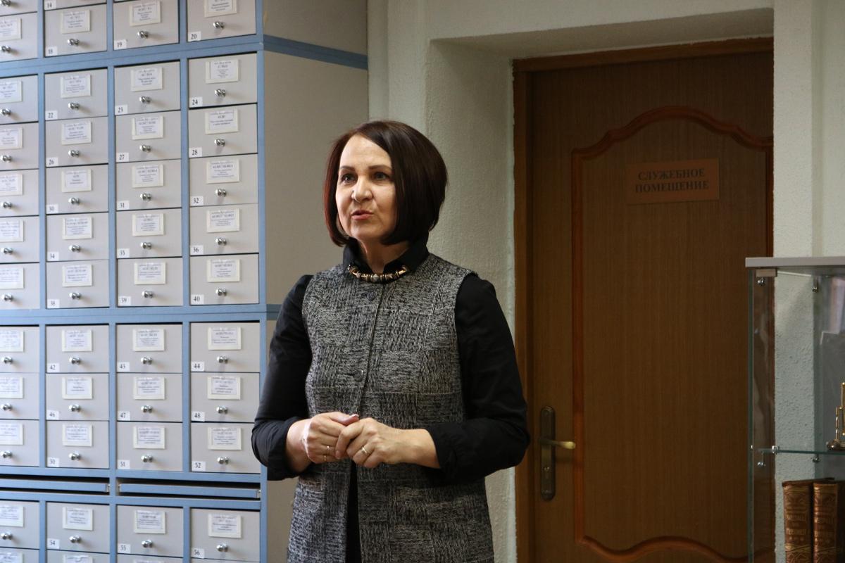 Наталия Геннадьевна Шевчук, директор дома-музея Германа Брахерта