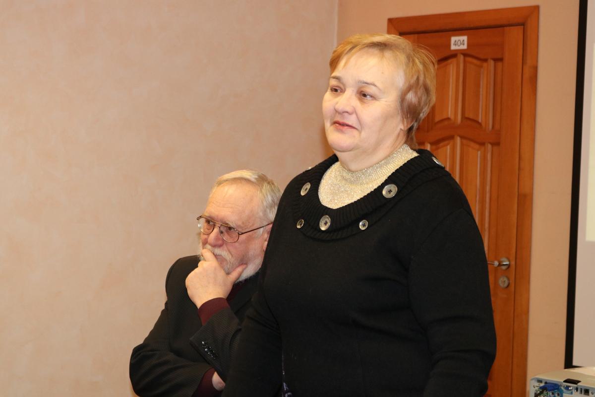 Ольга Владимировна Симкина, вдова поэта